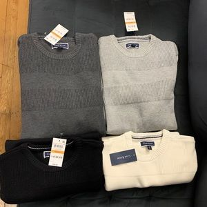 Bundle Men's Club Room Crewneck Sweaters sz Small